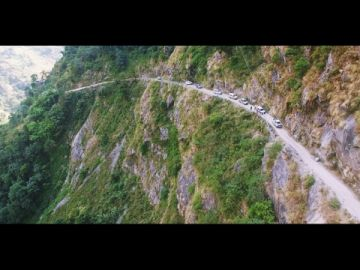 The biggest off-road trip to Manang